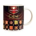 MUG COEUR D OR pour tous les amateurs de chocolat
