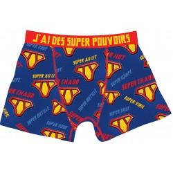 Caleçon - Boxer Homme J'ai des super pouvoirs