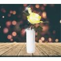 Lampe LED Roses lumineuses couleur jaune 30cm