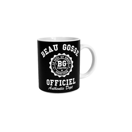 MUG BEAU GOSSE OFFICIEL NOIR