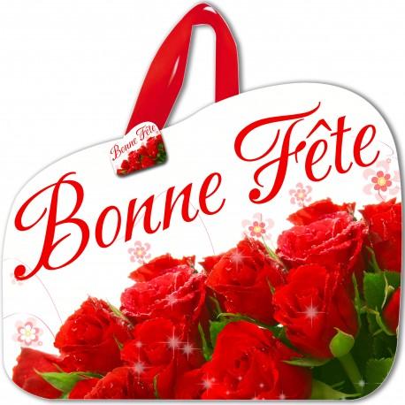 """Lot de 2 Pochettes sacs """"BONNE FETE"""""""