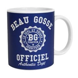 MUG OFFICIEL du BEAU GOSSE - colori BLEU