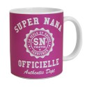 MUG OFFICIEL pour SUPER NANA - LOGO ORIGINAL