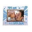 """Cadre photo """"Papa Adoré"""""""