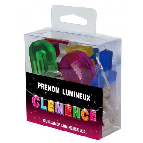 Guirlande Prénom Led - veilleuse CLEMENCE