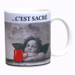 MUG PAUSE CAFE CHIC