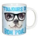 MUG pour les amoureux des chiens , DE BON POIL