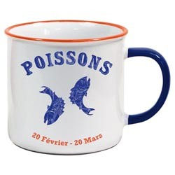 Tasse Horoscope Poissons