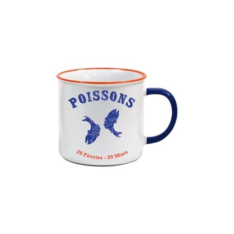 Tasse US Horoscope Poissons