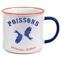 Tasse Horoscope Poissons