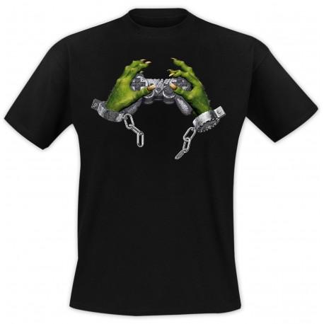 T-Shirt Game addict - Noir