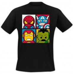T-Shirt 4 images - Noir