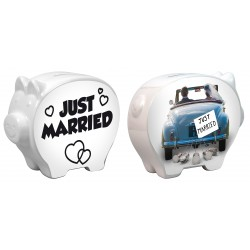 Tirelire Cochon Just Married