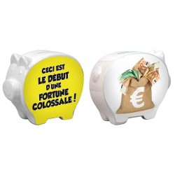 Tirelire Cochon Fortune colossale