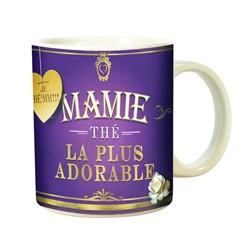 MUG Pour une ADORABLE MAMIE ! Qui aime le thé .....