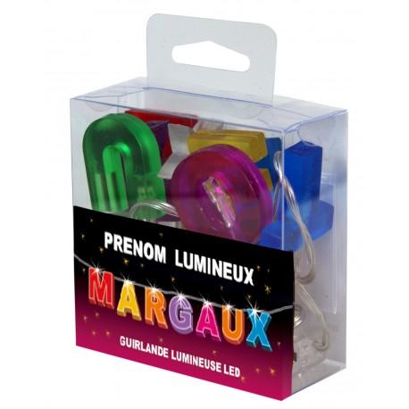 Guirlande Prénom Led - veilleuse MARGAUX
